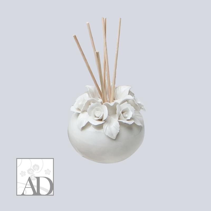 Ad | Diffusore porcellana fiori